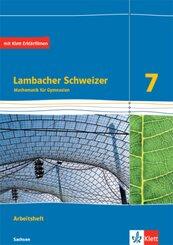 Lambacher Schweizer Mathematik 7. Ausgabe Sachsen - Arbeitsheft plus Lösungsheft Klasse 7