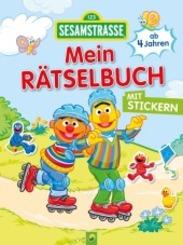 Sesamstraße Mein Rätselbuch mit Stickern