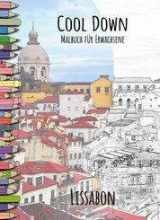 Cool Down   Malbuch für Erwachsene: Lissabon