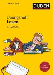 Übungsheft - Lesen 1. Klasse