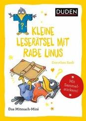 Duden Minis (Band 38) - Kleine Leserätsel mit Rabe Linus