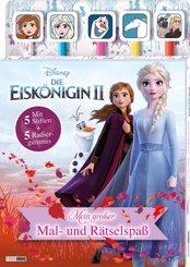 Disney Die Eiskönigin 2: Mein großer Mal- und Rätselspaß