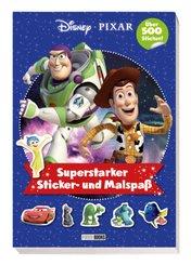 Disney PIXAR: Superstarker Sticker- und Malspaß
