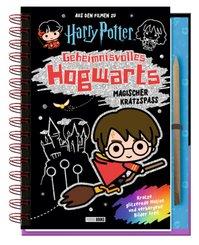 Aus den Filmen zu Harry Potter: Geheimnisvolles Hogwarts: Magischer Kratzspaß (mit Kratzstift)