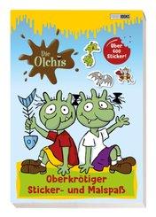 Die Olchis: Oberkrötiger Sticker- und Malspaß