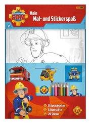 Feuerwehrmann Sam: Mein Mal- und Stickerspaß