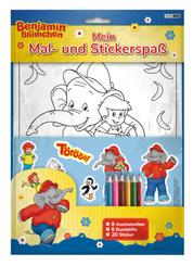 Benjamin Blümchen: Mein Mal- und Stickerspaß