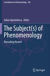 The Subject(s) of Phenomenology; Band 5