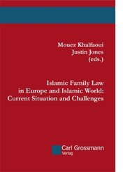 Islamic Family Law in Europe and Islamic World: Current Situation and Challenges