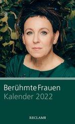 Berühmte Frauen. Kalender 2022