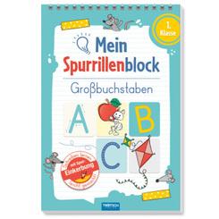 Trötsch Mein Spurrillenblock Großbuchstaben Übungsbuch