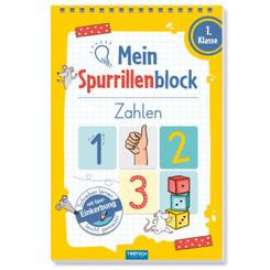 Trötsch Mein Spurrillenblock Zahlen Übungsbuch