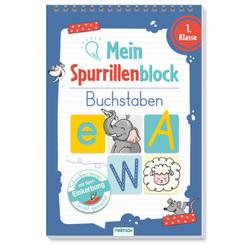 Trötsch Mein Spurrillenblock Buchstaben Übungsbuch