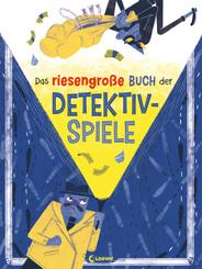 Das riesengroße Buch der Detektivspiele