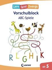 LernSpielZwerge Vorschulblock - ABC-Spiele