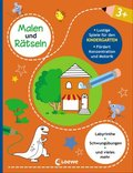 Malen und Rätseln - Lustige Spiele für den Kindergarten