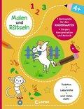 Malen und Rätseln - Denkspiele für den Kindergarten