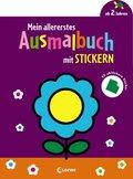 Mein allererstes Ausmalbuch mit Stickern (Blume)