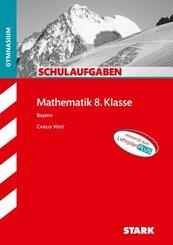 STARK Schulaufgaben Gymnasium - Mathematik 8. Klasse - Bayern