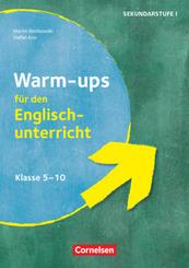 Warm-ups - Aufwärmübungen Fremdsprachen - Englisch - Klasse 5-10