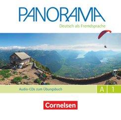 Panorama - Deutsch als Fremdsprache - A1: Gesamtband Audio-CDs zum Übungsbuch DaF