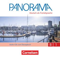 Panorama - Deutsch als Fremdsprache - B1: Gesamtband Audio-CDs zum Übungsbuch DaF