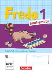 Fredo - Mathematik - Ausgabe A - 2021 - 1. Schuljahr Arbeitsheft mit interaktiven Übungen auf scook.de - Mit Stickerboge
