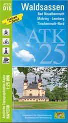 ATK25-D15 Waldsassen (Amtliche Topographische Karte 1:25000)