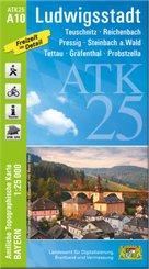 ATK25-A10 Ludwigstadt (Amtliche Topographische Karte 1:25000)