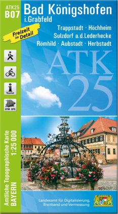 ATK25-B07 Bad Königshofen i.Grabfeld (Amtliche Topographische Karte 1:25000)