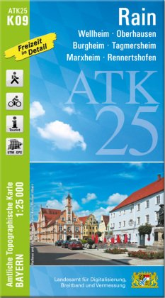 ATK25-K09 Rain (Amtliche Topographische Karte 1:25000)