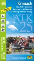 ATK25-B10 Kronach (Amtliche Topographische Karte 1:25000)