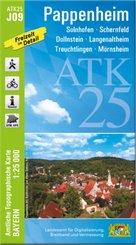 ATK25-J09 Pappenheim (Amtliche Topographische Karte 1:25000)