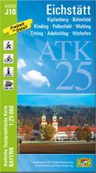 ATK25-J10 Eichstätt (Amtliche Topographische Karte 1:25000)