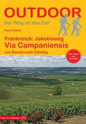 Frankreich: Jakobsweg Via Campaniensis