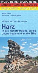 Mit dem Wohnmobil in den Harz in das Weserbergland, an die untere Saale und an die Elbe