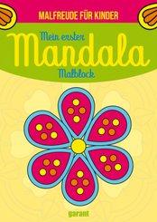 Mein erster Mandala Malblock - Malfreude für Kinder