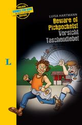 Langenscheidt Krimis für Kids - Beware of Pickpockets! - Vorsicht Taschendiebe!