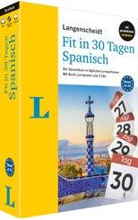 Langenscheidt Fit in 30 Tagen Spanisch, m. 3 Audio-CDs