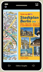 Stadtplan Berlin (Handy-Look)