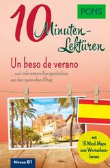 PONS 10-Minuten-Lektüren Spanisch B1 - Un beso de verano