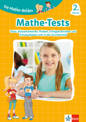Klett Die Mathe-Helden: Mathe-Tests 2. Klasse
