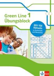 Green Line 1 (Bundesausgabe ab 2014) Klasse 5 - Übungsblock zum Schulbuch