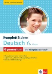 Klett KomplettTrainer Gymnasium Deutsch 6. Klasse; 201