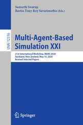 Multi-Agent-Based Simulation XXI