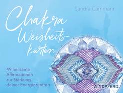 Chakra-Weisheitskarten, m. 49 Karten