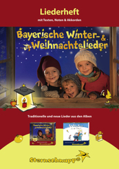Liederheft Bayerische Winter- und Weihnachtslieder