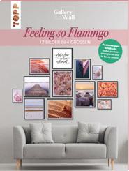 """Gallery Wall """"Feeling so Flamingo"""". 12 Bilder in 4 Größen"""