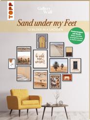 """Gallery Wall """"Sand Under My Feet"""". 12 Bilder in 4 Größen"""