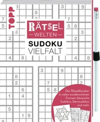 Rätselwelten - Sudoku Vielfalt | Der Rätselklassiker in vielen wunderschönen Formen: klassische Sudokus, Sternsudokus un